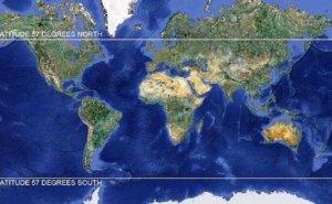 Lokasi Jatuhnya Satelit UARS